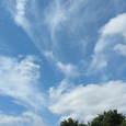 ストーン・ヘンジへ向かう車の中で見た雲達